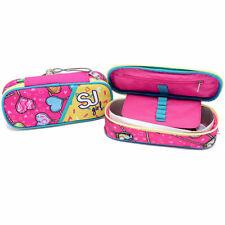 Astuccio portapastelli Bustina Scuola Seven SJ Gang Girl Rosa Cuori 2 Scomparti