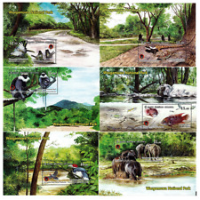 Sri Lanka Stamp Wasgamuwa National Park 6 MS 2019