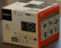 Sony A 6000 schwarz Gehäuse Body**NEU** ++T.....++ vom Sony Fachhändler