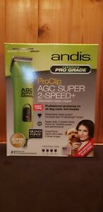 Andis ProClip AGC Super 2-Speed Clippers for Dogs w/ 4 Bonus Combs! BRAND NEW