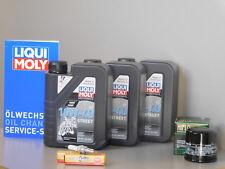 Sistema de Mantenimiento Honda Fjs 600 ala plateada Filtro aceite bujía Servicio