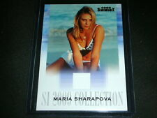 SI 2009 Maria Sharapova Memorabilia Card