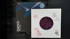 """SIGNED Ghosts Stay The Night 7"""" Single Coloured Vinyl Blue"""
