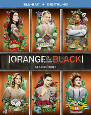 Orange Is the New Black: Season 3 (Blu-ray Disc, 2016, 3-Disc Set)