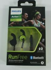 Philips ActionFit in Ear Bluetooth Sports Headphone with Mic, Green/Black