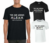 Personalised The One Where T-Shirt FRIENDS Lockdown Quarantine Kids & Adults Top
