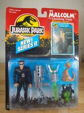 Jurassic Park Series 2 Ian Malcolm with Tranq. Missile & Galli Kenner 1994 NEW
