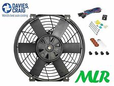 DAVIES CRAIG 16 INCH ELECTRIC RADIATOR / ENGINE COOLING FAN & FITTING KIT MLR.XT
