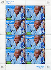 Bosnia & Herzegovina 2017 MNH Mary's Meals 25 Yrs 8v M/S Humanitarian Aid Stamps