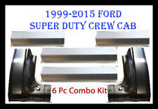 1999-2015 Ford Super Duty Crew Cab Front & Rear Rocker Panels And Cab Corners
