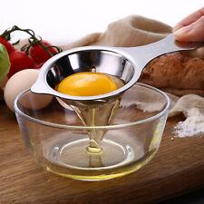 Steel White Egg Yolk Seperator Separator Kitchen Cooking Cake Gadget Sieve Tool