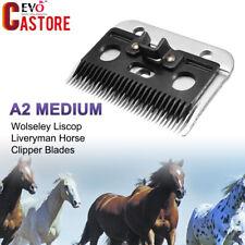A2 Medium Wolseley Liscop Liveryman Horse Clipper Blades Carbon Steel