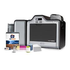Fargo HDP5000 Dual Side Printer, card design software, supplies,100 day warranty