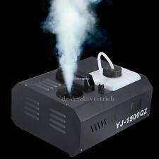 1500W DMX Fog/Smoke Machine Vertical Fogger UpSpray DJ Party W/ Wireless Remote