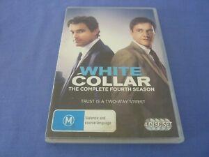 White Collar DVD Complete Season 4 Four R4 Free Tracked