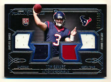 2014 TOPPS MUSEUM TOM SAVAGE RC 3CLR QUAD JERSEY TEXANS #3/150 1/1! JERSEY #3!