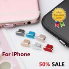 Charging Charger Port Anti Dust Plug Cap Cover For iPhone 7  X 11 12 13 Max Pro