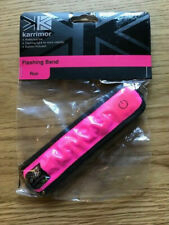 Brand New Karrimor Hot Pink Flashing Arm Band
