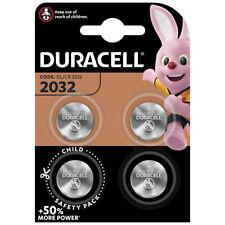 kQ Duracell Knopfzelle Lithium CR2032 DL2032 3V Batterien 4er Blister