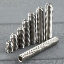 50Pc M3 Srew 4/6/8/10/12/14/16/20mm Stainless Steel Six Inner Angle Concave Srew