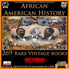Rare Vintage African American History Books on DVD Black Slavery