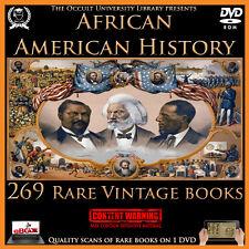 Rare Vintage African American History Books on DVD Black Slavery