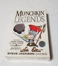 Munchkin Legends Card Game, Brand New & Sealed 1st Edition 1st Printing 2013