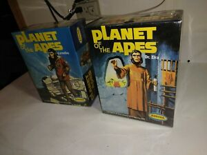 AURORA CINEMODELS PLANET OF THE APES 2 SEALED KITS REISSUE