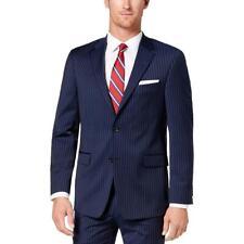 Tommy Hilfiger Mens Adams  Wool Pinstripe Suit Separate...