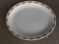 Vintage SAXONY Mayer China OVAL PLATTER  Restaurant Ware Beaver Falls USA