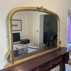 Gold Gilt Effect Mirror