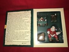 "Hallmark Keepsake Ornament Collector's Club ""Santa's Big Night"" from 2002"