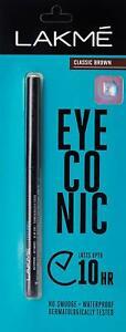 LAKEME EYECONIC KAJAL-Royal Blue - Turquoise - Classic Brown - Deep Black 0.35g