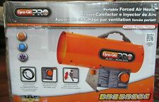 Dyna-Glo Pro Portable Forced Air Heater, In the Box, Propane 30,000 - 60,000 BTU