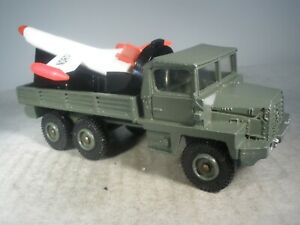 Dinky Toys Military French BERLIET GAZELLE MISSILE LAUNCHER #620 OUTSTANDING
