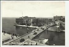 bella cartolina di taranto nuovo ponte e castello aragonese