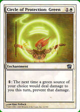 Circle of Protection: Green Magic the Gathering 8th Edition in NM-Mint Condition