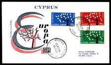 CYPRUS - CIPRO - 1962 - Europa - Albero con 19 foglie