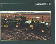 JOHN DEERE TRACTORS 40 to 95 HP 1988 Buyers Guide