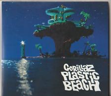 Gorillaz - Plastic Beach (CD/DVD, 2010, 2-Disc Set) RARE