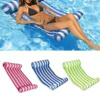 Water Hammock Pool Lounger Float Inflatable Raft Bed Swimming Air Floating New.