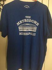 The Metrodome Minneapolis X-Large Blue T-Shirt