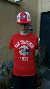 VTG 80'S SAN FRANCISCO 49ERS ARCH LOGO CHAMPION SHIRT MEN MED USA NOS
