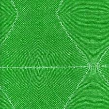 Plum Seeds Green Aboriginal Australian Quilt Sew Fabric M & S TEXTILES