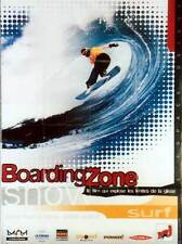 Affiche 120x160cm BOARDING ZONE 1995 Sonny Miller, Dugan - Documentaire NEUVE