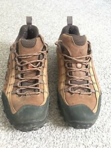 Merrell Intercept Mens Brown Breathable Walking Hiking Trainers Shoes UK Size 10