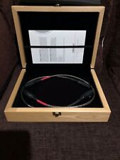 NORDOST NORSE TYR XLR BALANCED ANALOGUE 0.6M CABLE INTERCONNECT LEAD WOODEN BOX