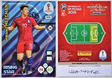 Panini Adrenalyn XL World Cup 2018 Russia/ RISING STAR Nr. 426: H. HEECHAN/ KOR