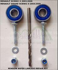 Renault Scenic 2 II 2003-2009  Drivers side Wiper Arm Linkage Repair refurb Kit