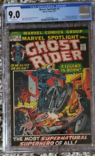Marvel Spotlight 5 1st Ghost Rider CGC 9.0 White Pages!
